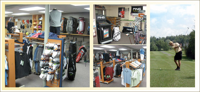 Boutique de golf : Club de Golf Canton - Warwick